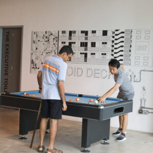 Singapore pool table